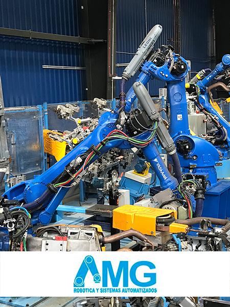 Sistemas automatizados, robots robótica